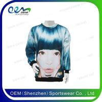 Buy cheap Sweatshirt & Sweater Sublimation printing cheap wholesale custom sweatshirts from wholesalers