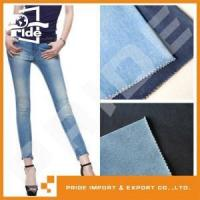 Buy cheap PR-WD491 Latest lady jeans wholesale denim lycra fabric from wholesalers