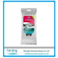 Buy cheap 20pcs auto cleaning wipe/auto wet wipes/car wipes from wholesalers