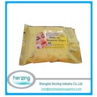 Buy cheap 25CT Makeup Remover Wipes Feminine Cleaning Tissue from wholesalers