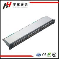 Buy cheap 24 Port Krone IDC 90 Degree RJ45 CAT6 Patch Panel from wholesalers