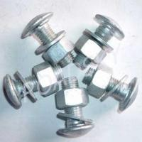 Buy cheap Galvanized Guardrail Bolts and Nuts from wholesalers