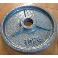 Buy cheap Fitness Equipment Painting Olympic Barbell Plate from wholesalers