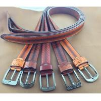 Buy cheap Retro Paint Embossed Men's PU Belts from wholesalers