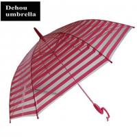 Buy cheap Bizarre handle transparent umbrella ITEM NO:TP 151269 product