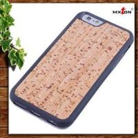 Buy cheap Exceptional Samples Are Available Armor Stand Wooden Case For Iphone 6 from wholesalers