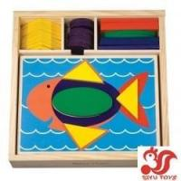 Buy cheap Beginner Pattern Blocks Model No.: SY110915-2 from wholesalers