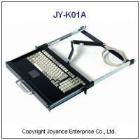 Buy cheap 19 Rack Mount Keyboard Drawer JY-K01A Keyboard Drawer with Touchpad from wholesalers