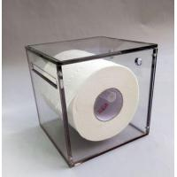 Buy cheap Factory direct sale custom acrylic color tissue box/tissue roll holder/toilet tissue holder from wholesalers