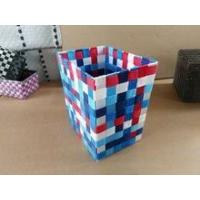 Set of 2 colorful shiny PP woven child toy bag