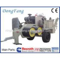 Buy cheap 400 KV Overhead Transmission Line Stringing Equipment With American Cummins Engine Puller from wholesalers
