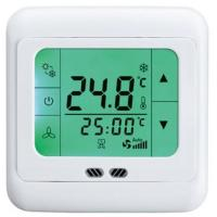 Buy cheap HTW-21-F18 Programmable touch screen thermostat for fan coil unit-HTW-21-F18 from wholesalers