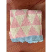 Buy cheap BABY BLANKET yarn dyed knitted blanket from wholesalers