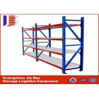 Buy cheap three tier Durable Warehouse Storage Racks garage storage shelving systems from wholesalers