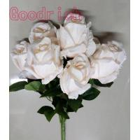 Buy cheap GR-1812 artificial flower rose bush from wholesalers