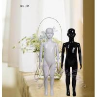 Buy cheap kids mannequins glossy black and white children mannequins from wholesalers