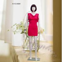 Buy cheap famale mannequin glossy white female mannequin from wholesalers