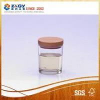 Buy cheap Scented candle in glass jar with wood lid product