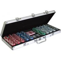 Buy cheap Cards Poker 500 poker chip set 20114 500pcs Poker Chips Game Set from wholesalers
