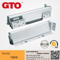 Buy cheap H3015 Metal box full extension drawer slides from wholesalers
