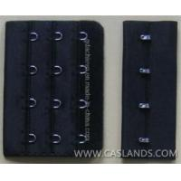 Buy cheap Hook and eye tapes Black Bra Hook and Eye with 4 Stitches from wholesalers