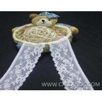 Buy cheap 5.3cm White stretch Lace Roll Tape LCF23475MN from wholesalers