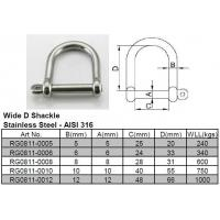Buy cheap Wide D Shackle from wholesalers