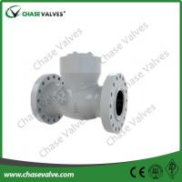 Buy cheap flanged swing check valve Flange Ends Pressure Sealing Swing Check Valve from wholesalers