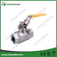 Buy cheap stainless steel small mini 2 piece threaded ball valve from wholesalers