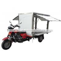 Buy cheap Bajaj Auto Rickshaw mobile fruit shop 3 wheelers motor tricycle BA200ZH-M from wholesalers