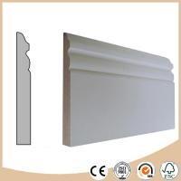 Buy cheap WPC Vinyl Flooring Decorative Pine skirting board / Baseboard molding from wholesalers