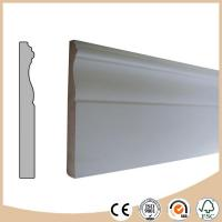 Buy cheap WPC Vinyl Flooring Primed Cheap Baseboard Moulding from wholesalers