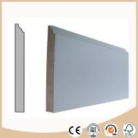 Buy cheap WPC Vinyl Flooring Decorative MDF Skirting board / Baseboard molding for Flooring from wholesalers