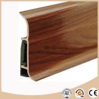 Buy cheap WPC Vinyl Flooring Soft formed pvc skirting board / baseboard molding from wholesalers