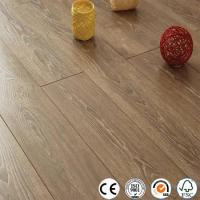 Buy cheap WPC Vinyl Flooring Distressed 12mm collection V groove laminate flooring from wholesalers