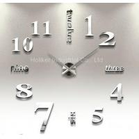Buy cheap DIY wall clock Large wall DIY clock Item NO.: HO-8230S from wholesalers