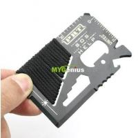 Buy cheap 16 in one EDC multifunction survival tool from wholesalers