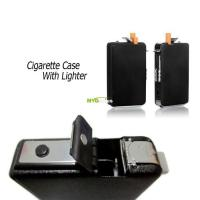 Buy cheap Automatic Ejection Butane Cigarette Lighter Case Box Holder Windproof Dispenser from wholesalers