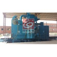 Buy cheap Industry Shot Blasting Machine for Steel Structure , Shot Blasting Process High Effenciency from wholesalers