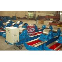 Buy cheap 40T Lead Screw Tank Rotators Welding Positioner Metallic Rollers from wholesalers