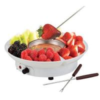 Buy cheap YK-218 Electric Chocolate Fondue Family Set White Color YK-218 from wholesalers