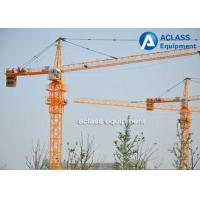 Buy cheap High Rise Fixed Hammerhead Tower Crane , External Climbing Travelling Tower Crane from wholesalers