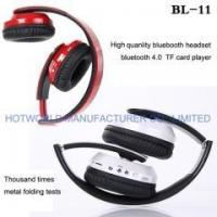 Buy cheap Headphone Noise cancelling headphones with built in radio Bluetooth FM radio TF card headsets from wholesalers