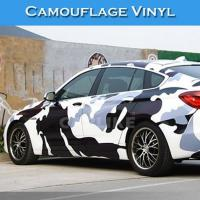 Buy cheap HD070 Black White Camouflage Car Body Wrapping Film from wholesalers