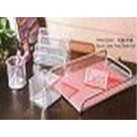 Buy cheap 5pcs Letter Tray Desk Set from wholesalers
