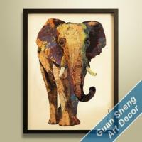Buy cheap 2015 New African elephant art decoration product