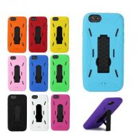Buy cheap Kickstand Hybrid Silicone Gel Hard Case for IPHONE 6 ALIP6#005 from wholesalers