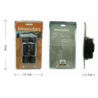 Buy cheap 10X25mm binoculars standing clamshell packing from wholesalers