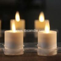 China Long Lasting Decorative Flicker Dancing Flame luminara rechargeable candle on sale