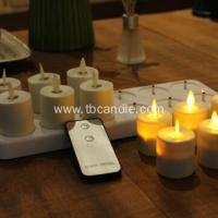 Buy cheap flameless flickering luminara rechargeable led tea light candles with remote control from wholesalers